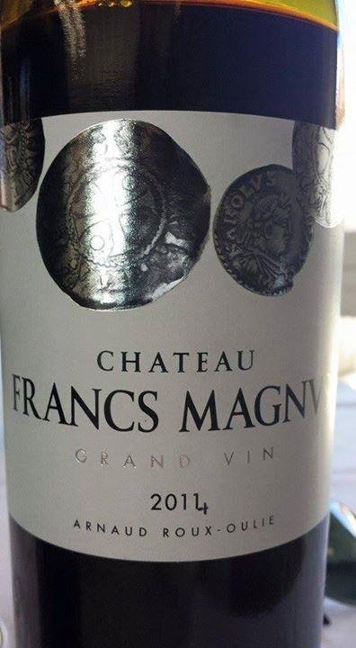 Château Francs Magnus 2014 – Grand Vin – Bordeaux Supérieur