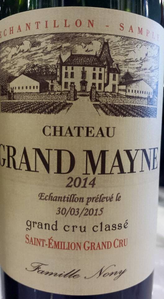 Château Grand Mayne 2014 – Saint-Emilion Grand Cru Classé