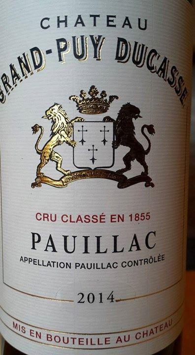 Château Grand-Puy Ducasse 2014 – 5ème Grand Cru Classé à Pauillac