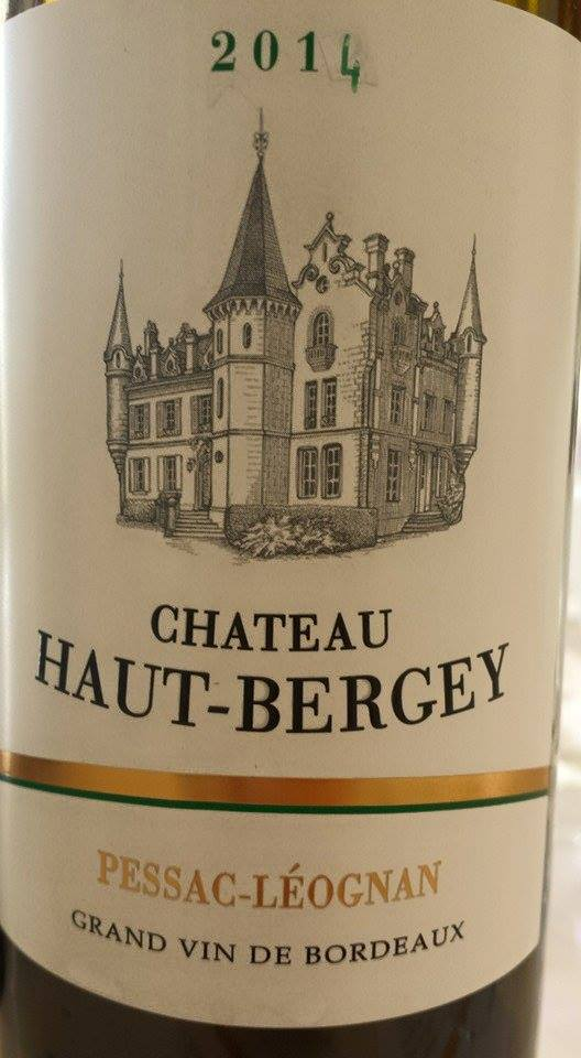 Château Haut-Bergey 2014 – Pessac-Léognan
