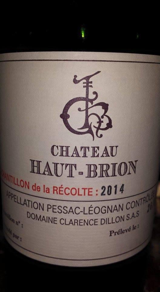 Château Haut-Brion 2014 – 1er Grand Cru Classé de Graves – Pessac-Léognan