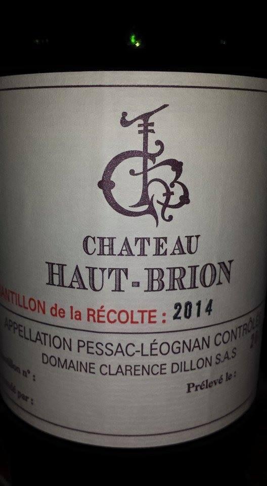 Château Haut-Brion 2014 – Pessac-Léognan (blanc)
