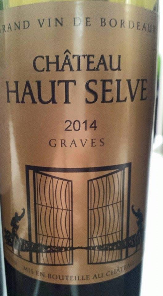 Château Haut-Selve 2014 – Graves