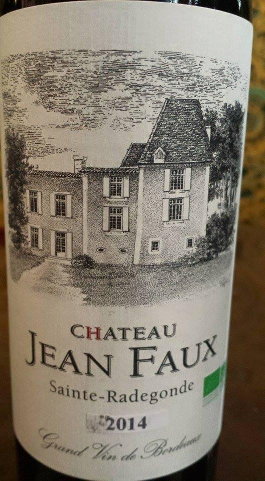 Château Jean Faux 2014 – Bordeaux Supérieur