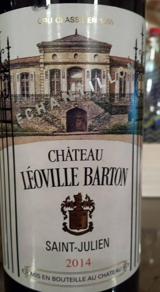 Château Léoville Barton 2014 – 2ème Grand Cru Classé de Saint-Julien