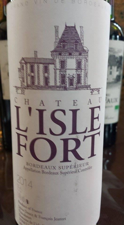 Château L'Isle Fort 2014 – Bordeaux Supérieur