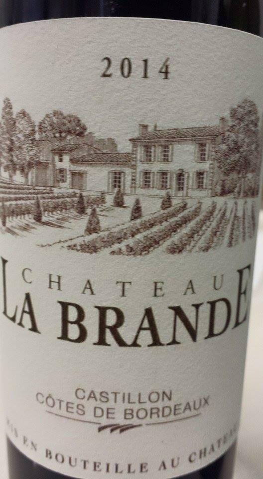 Château La Brande 2014 – Castillon Côtes-de-Bordeaux