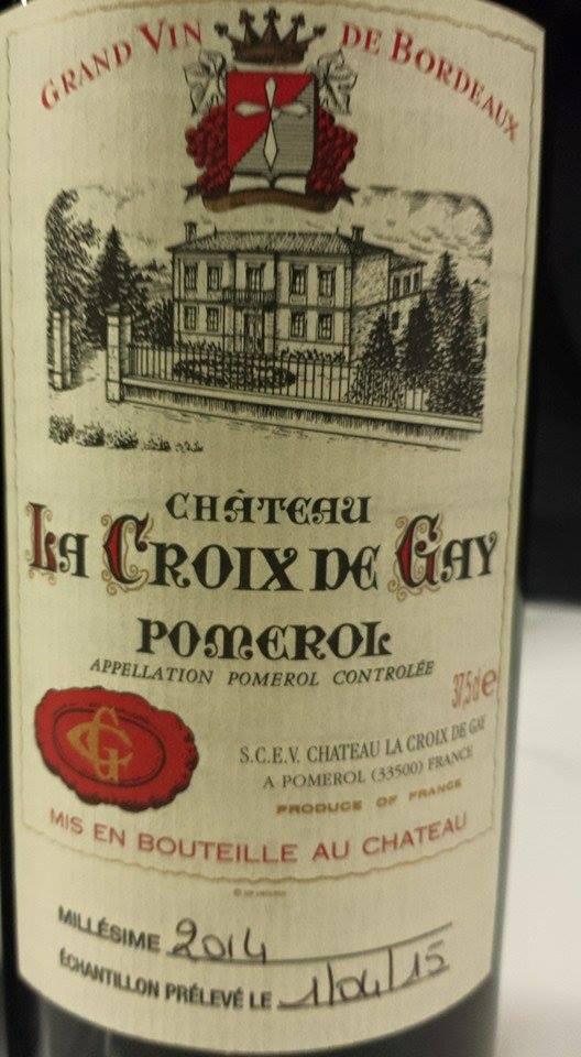 Château La Croix de Gay 2014 – Pomerol