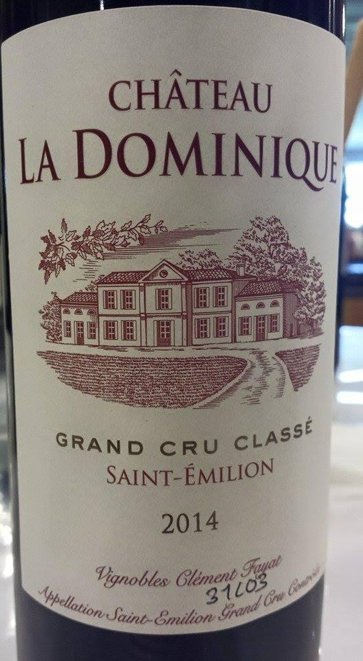 Château La Dominique 2014 – Saint-Emilion Grand Cru Classé