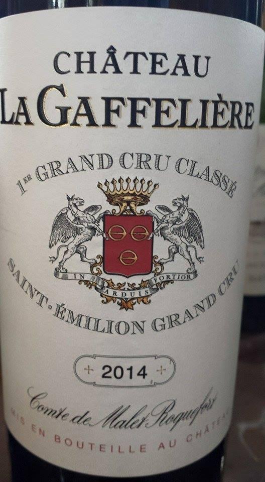 Château La Gaffelière 2014 – 1er Grand Cru Classé B – Saint-Emilion Grand Cru