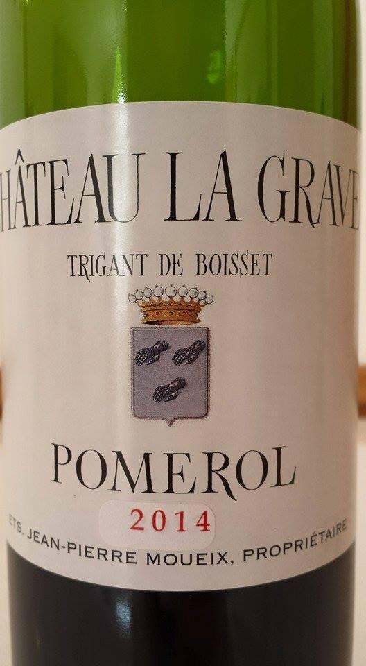 Château La Grave 2014 – Trigant de Boisset – Pomerol