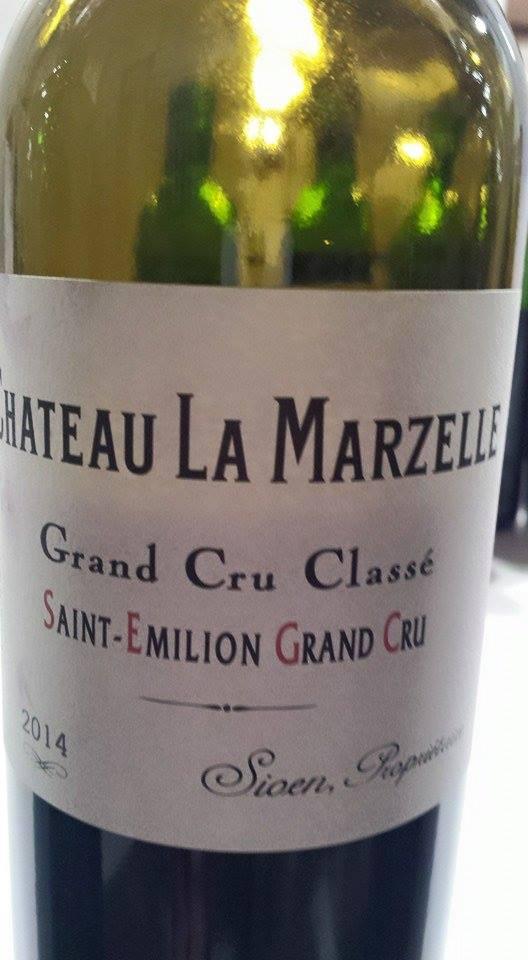 Château La Marzelle 2014 – Saint-Emilion Grand Cru Classé