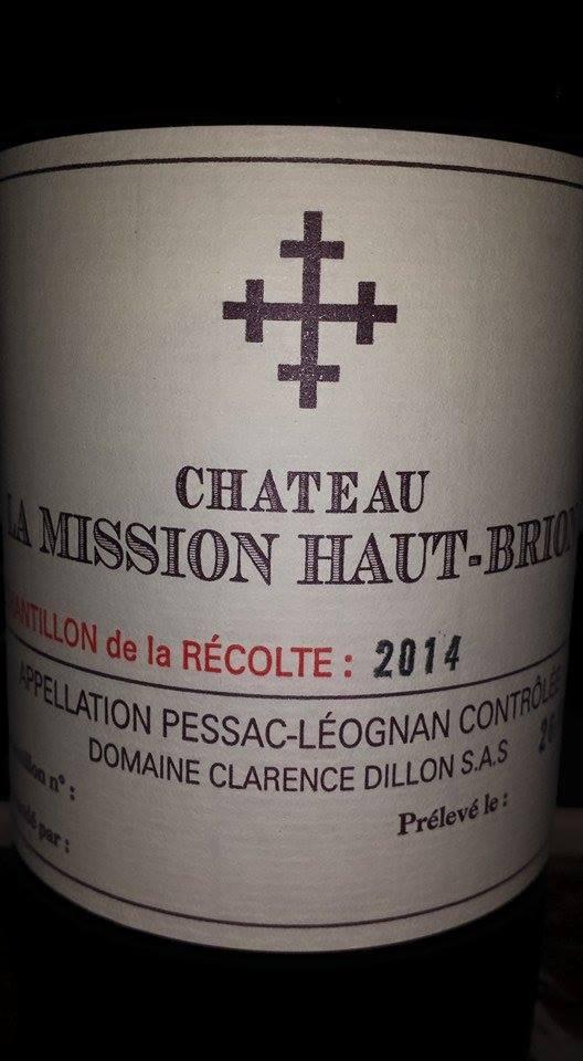 Château La Mission Haut-Brion 2014 – Pessac-Léognan (white)