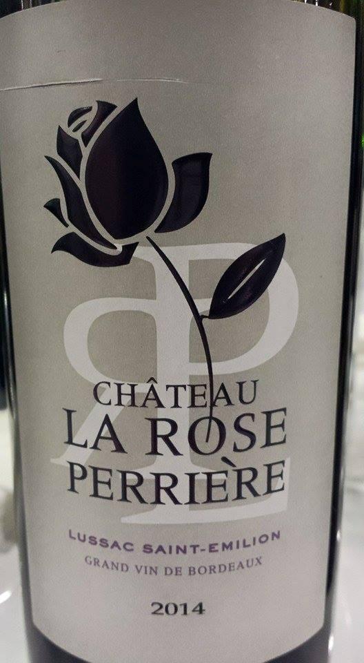 Château La Rose Perrière 2014 – Lussac Saint-Emilion