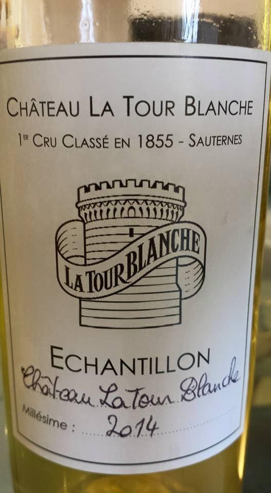 Château La Tour Blanche 2014 – 1er Cru Classé à Sauternes