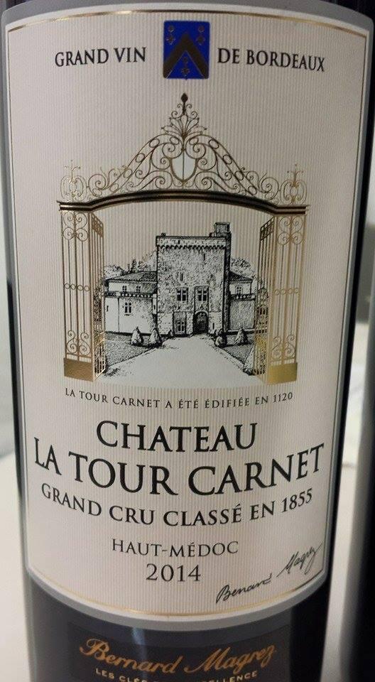 Château La Tour Carnet 2014 – 4ème Grand Cru Classé, Haut-Médoc