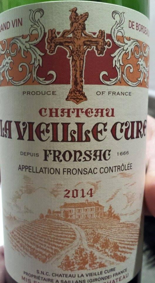 Château La Vieille Cure 2014 – Fronsac