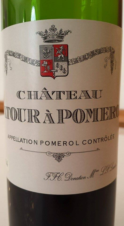 Château LaTour à Pomerol 2014 – Pomerol