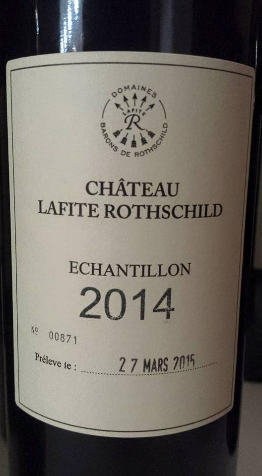 Château Lafite Rothschild 2014 – 1er Grand Cru Classé à Pauillac
