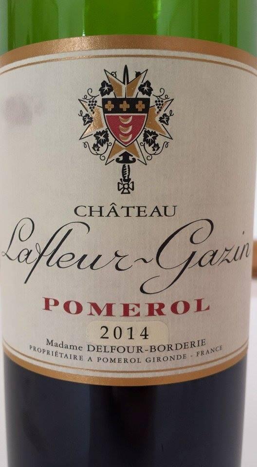 Château Lafleur-Gazin 2014 – Pomerol