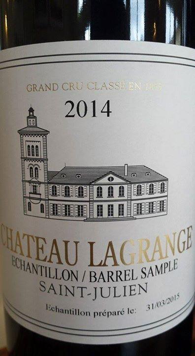 Château Lagrange 2014 – 3ème Grand Cru Classé à Saint-Julien