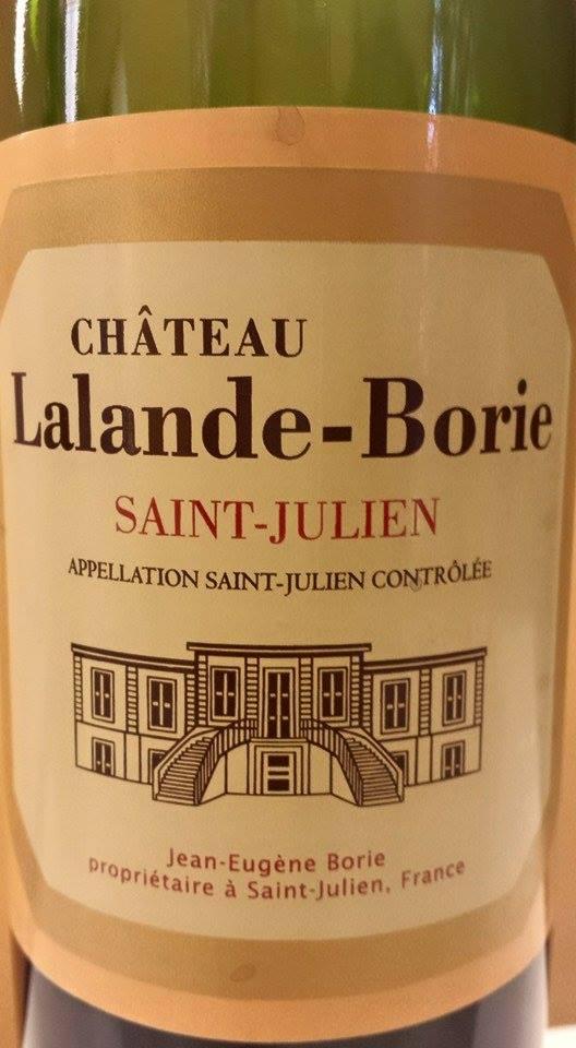 Château Lalande Borie 2014 – Saint-Julien
