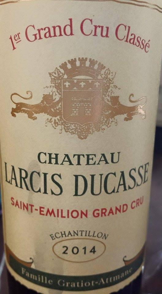 Château Larcis Ducasse 2014 – 1er Grand Cru Classé de Saint-Emilion