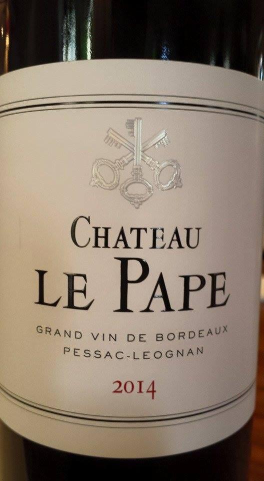 Château Le Pape 2014 – Pessac-Léognan