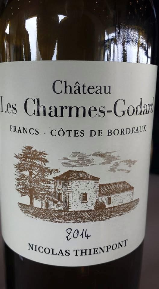 Château Les Charmes Godard 2014 – Francs Côtes-de-Bordeaux