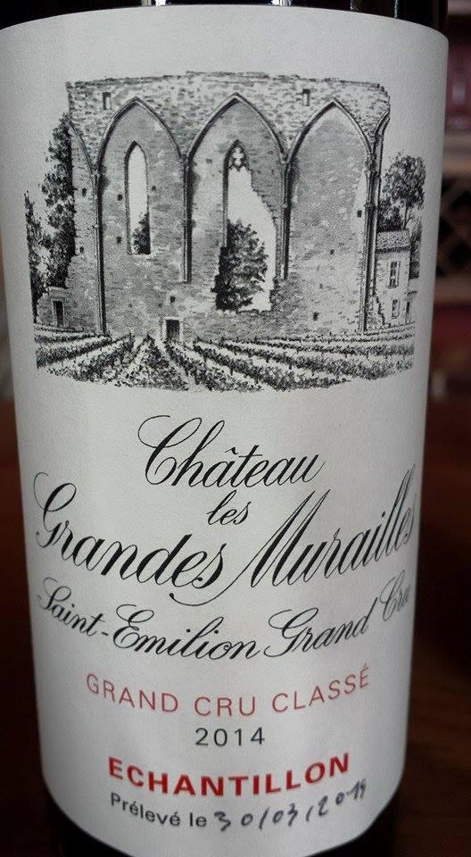 Château Les Grandes Murailles 2014 – Saint-Emilion Grand Cru Classé