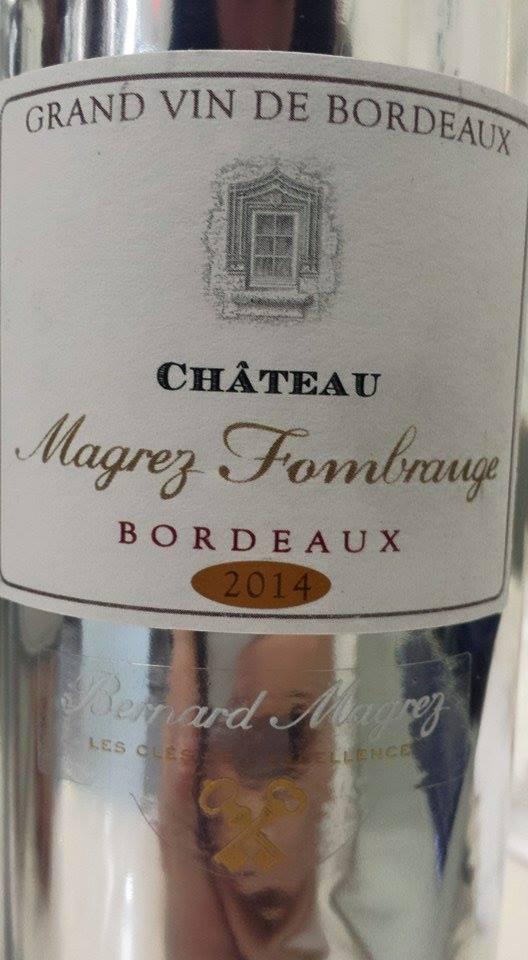 Château Magrez Fombrauge 2014 – Bordeaux