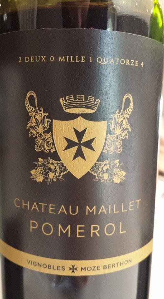 Château Maillet 2014 – Pomerol