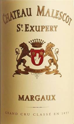 Château Malescot Saint-Exupéry 2014 – 3ème Grand Cru Classé de Margaux