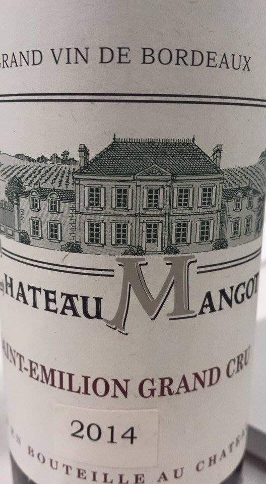 Château Mangot 2014 – Saint-Emilion Grand Cru