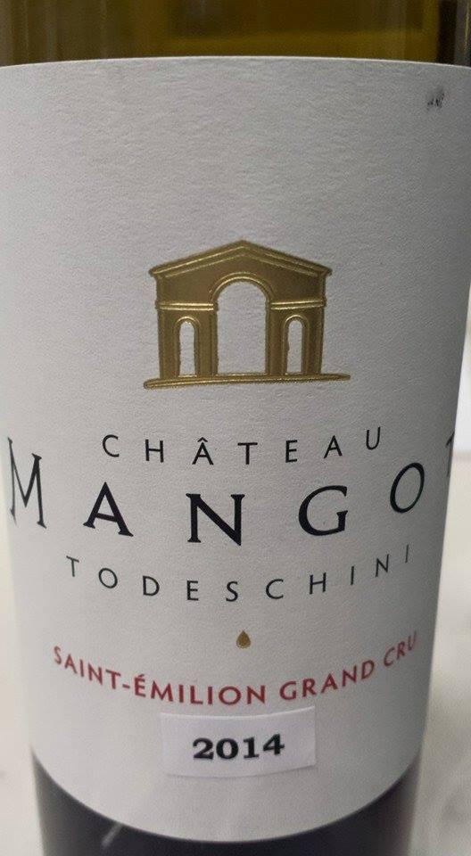 Château Mangot – Cuvée Todeschini 2014 – Saint-Emilion Grand Cru
