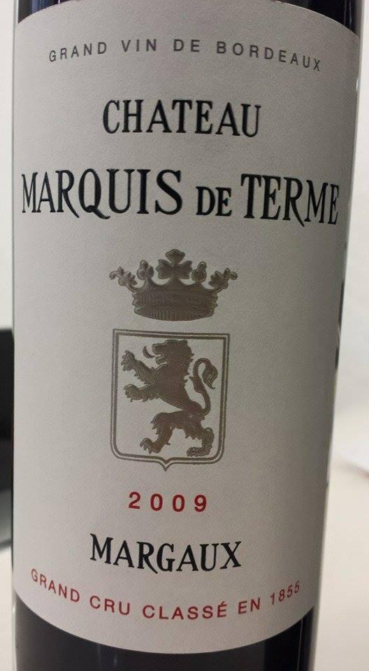 Château Marquis de Terme 2014 – 4ème Grand Cru Classé de Margaux