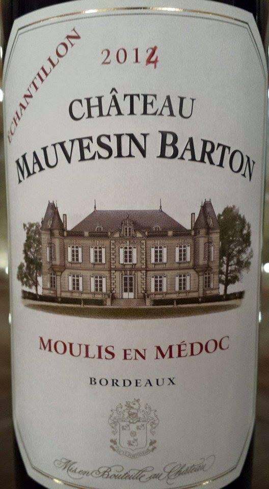 Château Mauvesin Barton 2014 – Moulis-en-Médoc