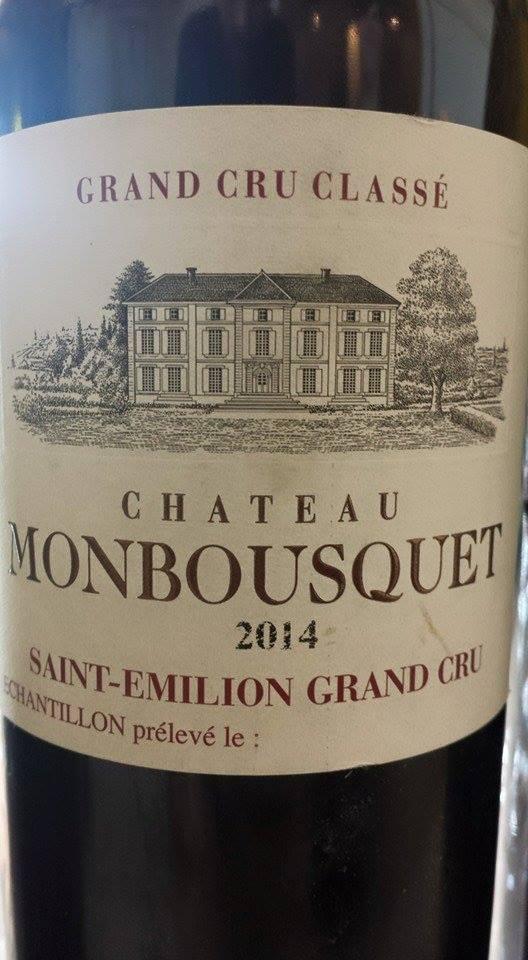 Château Monbousquet 2014 – Saint-Emilion Grand Cru Classé
