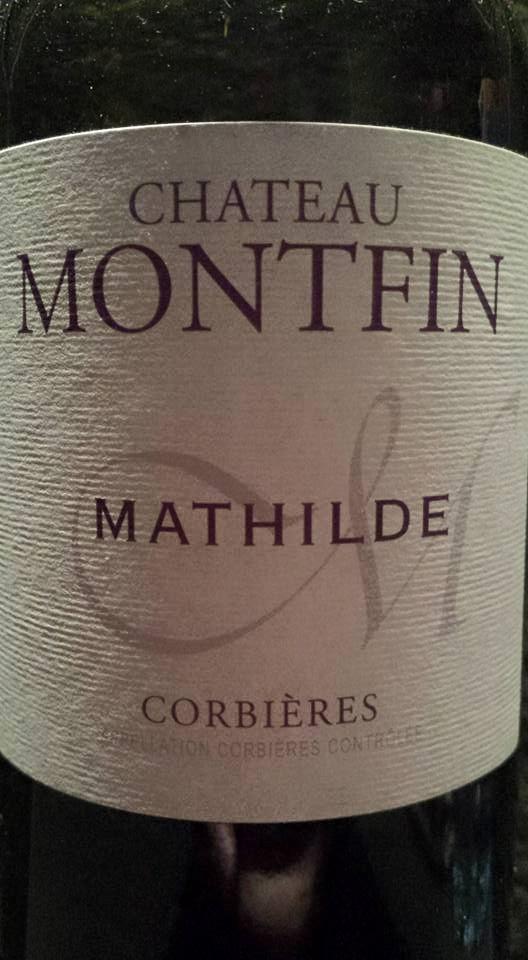 Château Montfin – Cuvée Mathilde 2012 – Corbières
