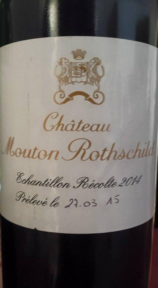 Château Mouton Rothschild 2014 – 1er Grand Cru Classé à Pauillac