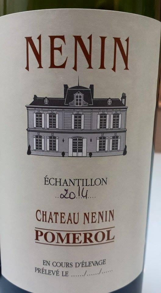 Château Nenin 2014 – Pomerol