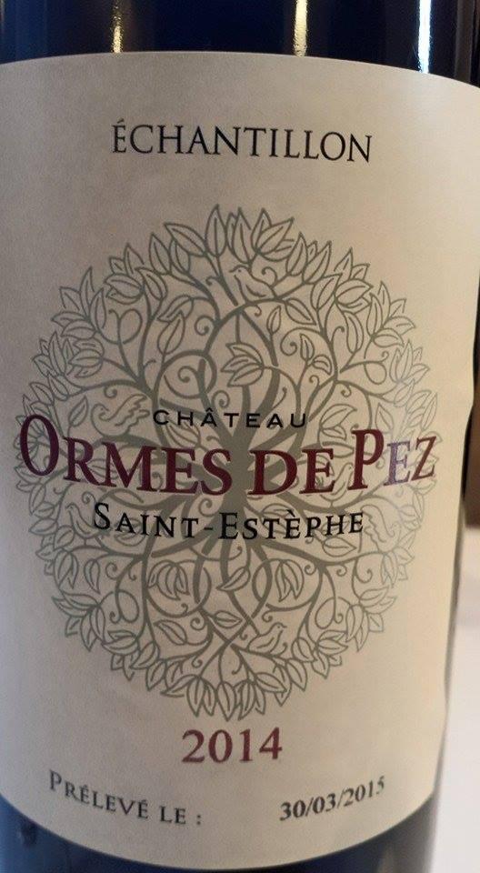 Château Ormes de Pez 2014 – Saint-Estèphe