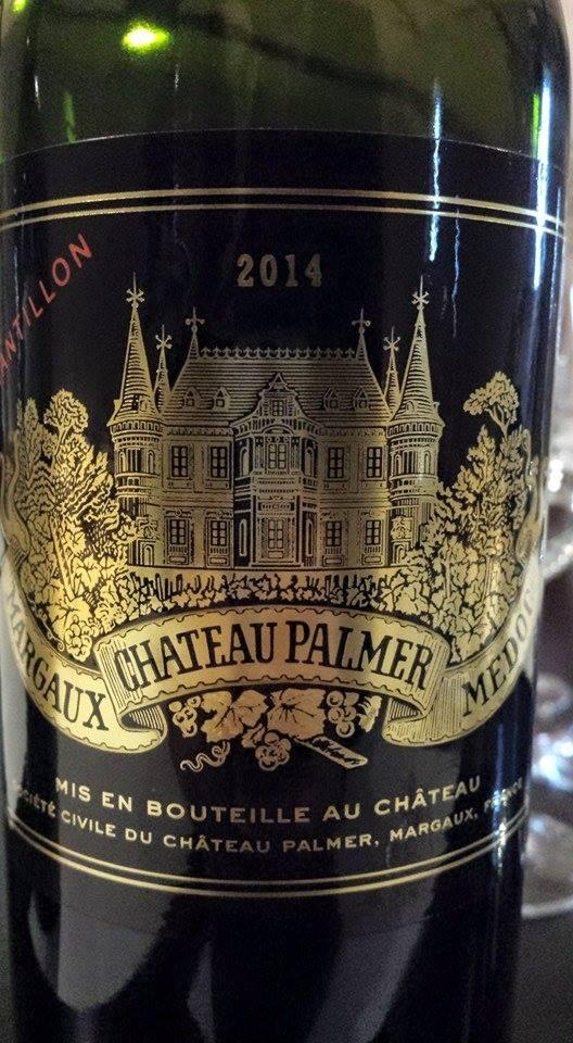 Château Palmer 2014 – 3ème Grand Cru Classé – Margaux