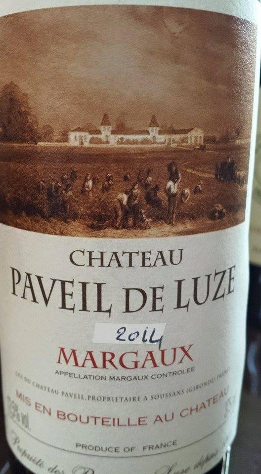 Château Paveil de Luze 2014 – Margaux
