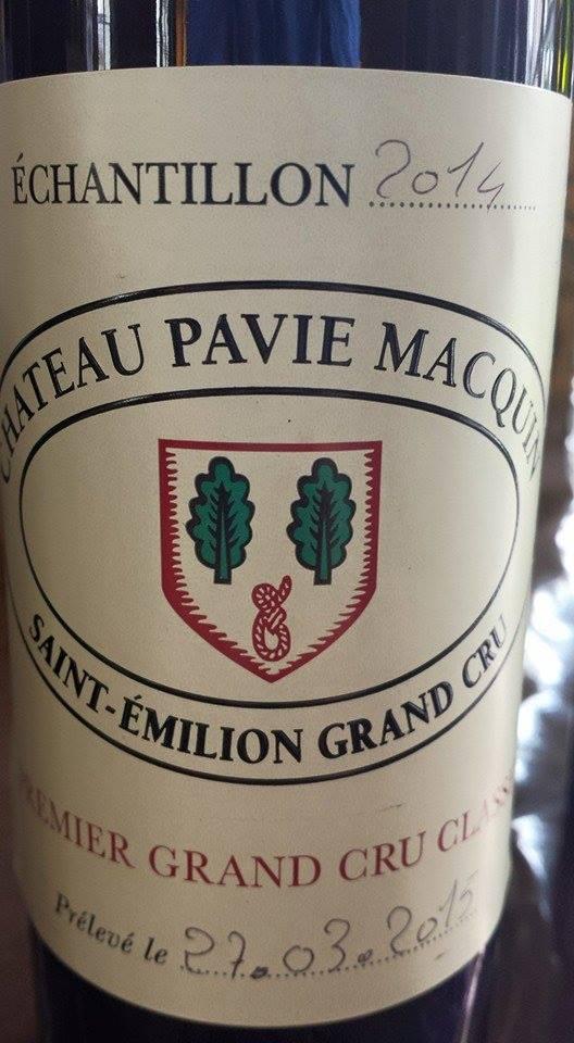 Château Pavie-Macquin 2014 – 1er Grand Cru Classé de Saint-Emilion