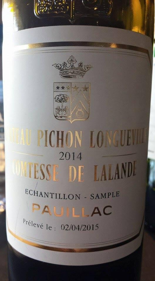 Château Pichon Longueville Comtesse de Lalande 2014 – 2ème Grand Cru Classé à Pauillac