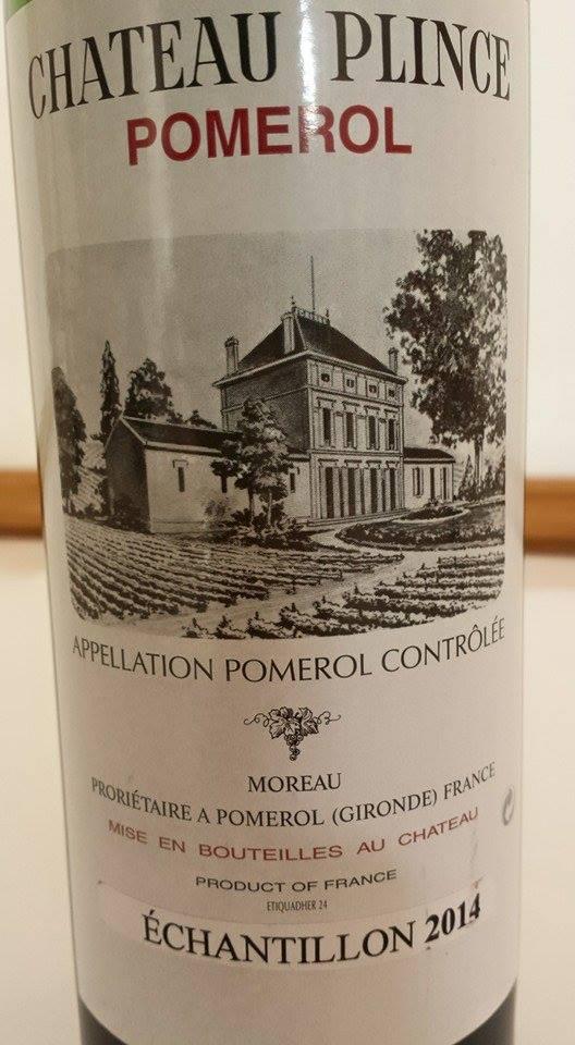Château Plince 2014 – Pomerol