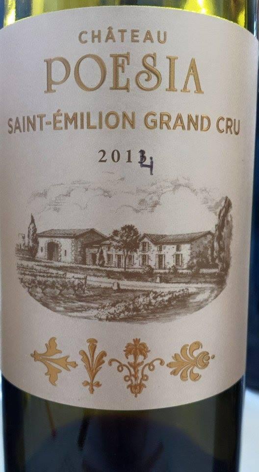 Château Poesia 2014 – Saint-Emilion Grand Cru