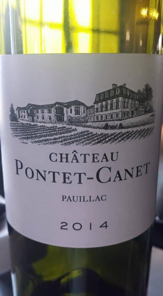 Château Pontet-Canet 2014 – 5ème Grand Cru Classé à Pauillac