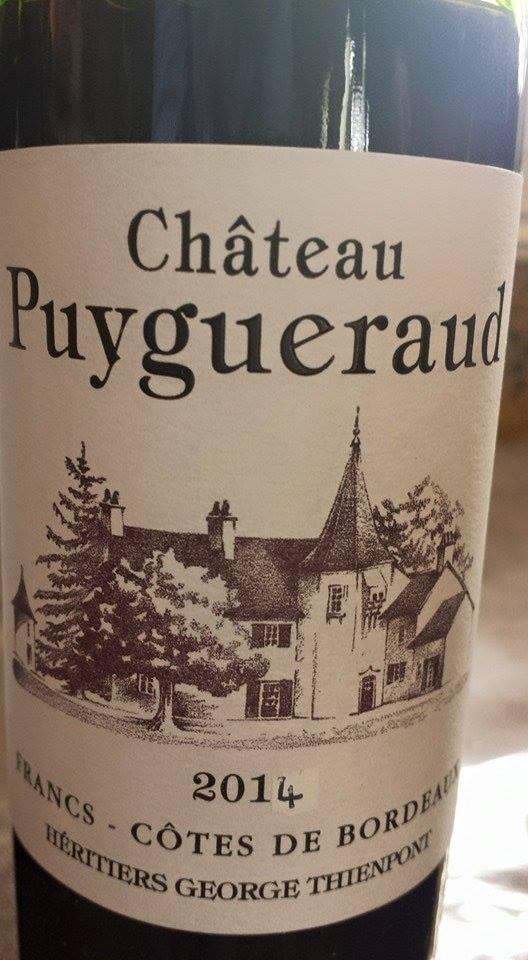 Château Puygueraud 2014 – Francs Côtes-de-Bordeaux